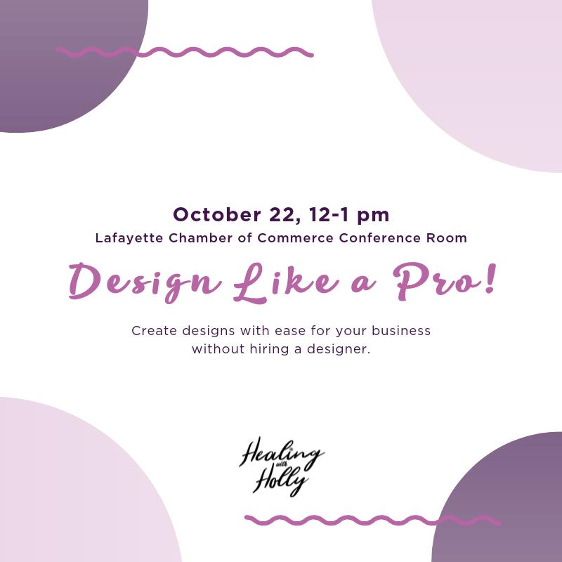Tuesday Talk: Design Like a Pro