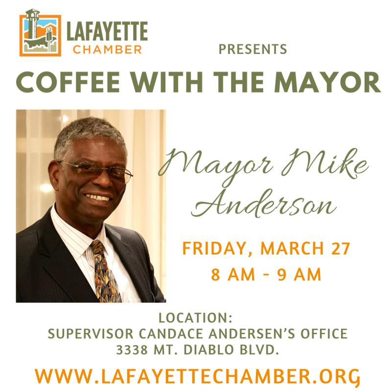 CANCELED: Coffee with Mayor Mike Anderson