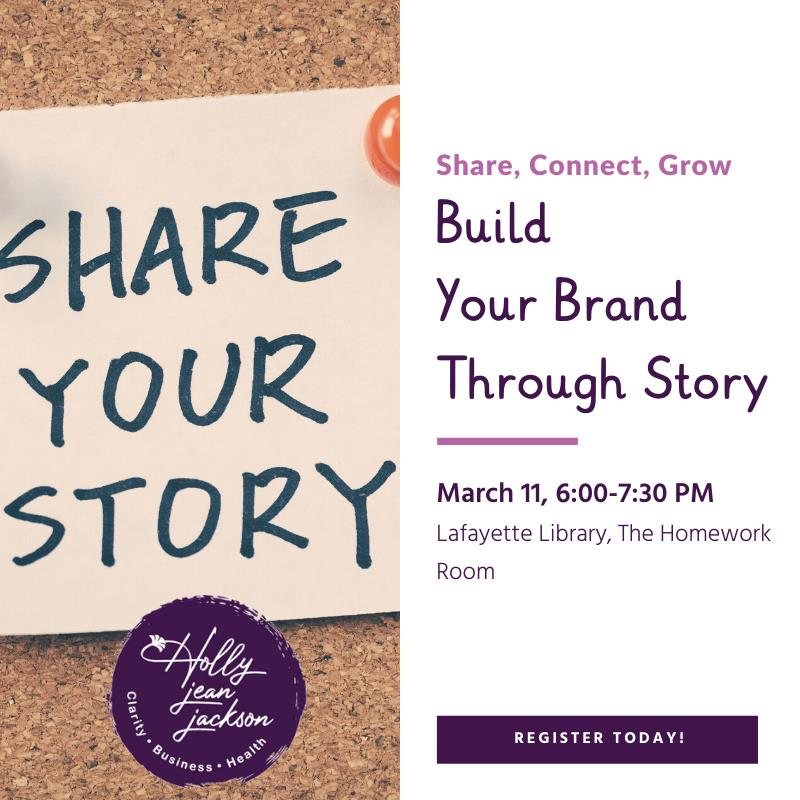 Canceled: Build Your Brand Through Story