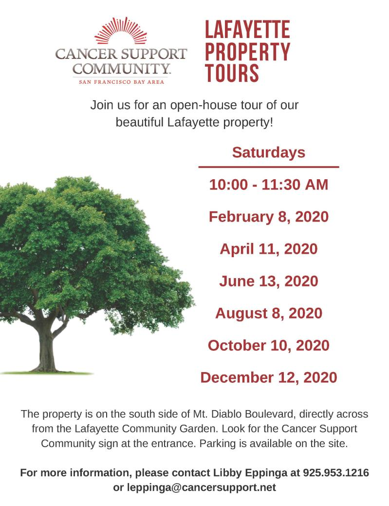 Cancer Support Community: Lafayette Property Tours