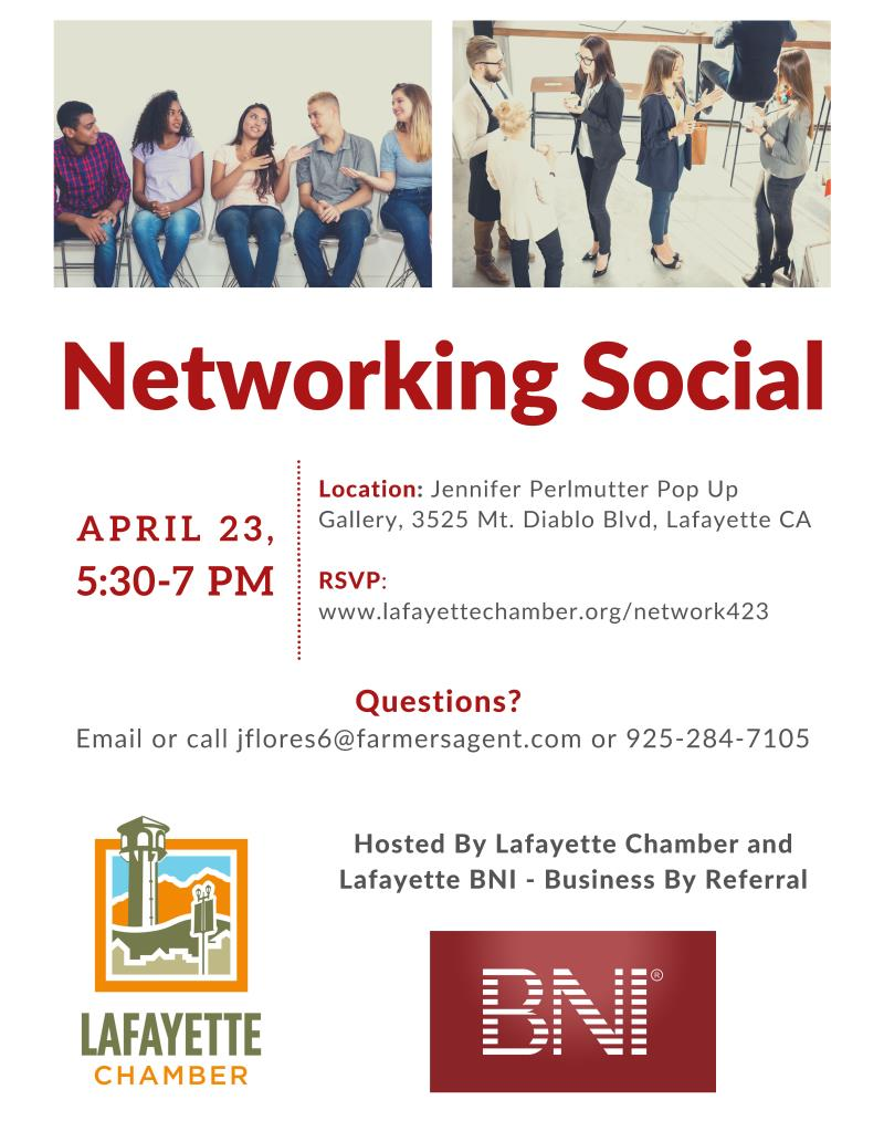 POSTPONED: Networking Social