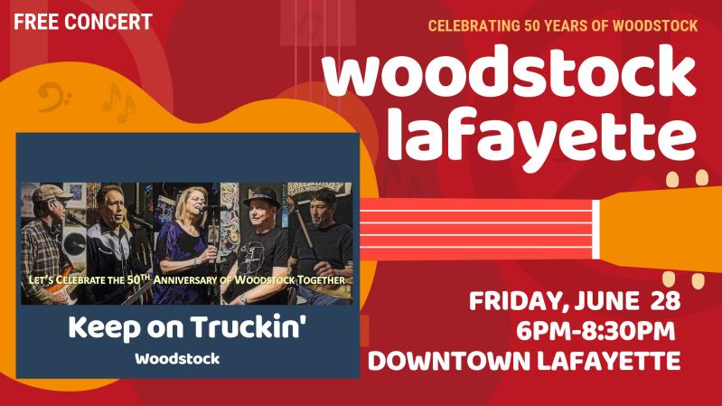 Woodstock Lafayette - Rock the Plaza Concert Series